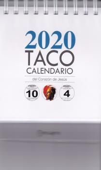 TACO CALENDARIO SAGRADO CORAZON  2020 PEANA