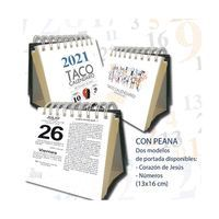 TACO CALENDARIO 2021 PEANA SAGRADO CORAZON