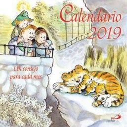 CALENDARIO PARED UN CONSEJO PARA CADA MES 2019