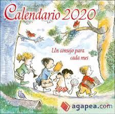 CALENDARIO PARED UN CONSEJO PARA CADA MES 2020