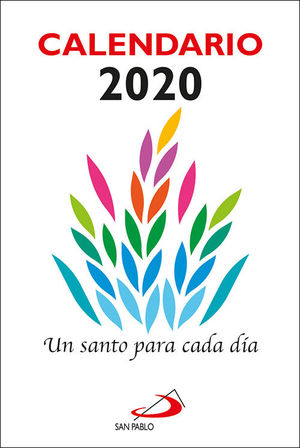 CALENDARIO TACO UN SANTO PARA CADA DIA 2020